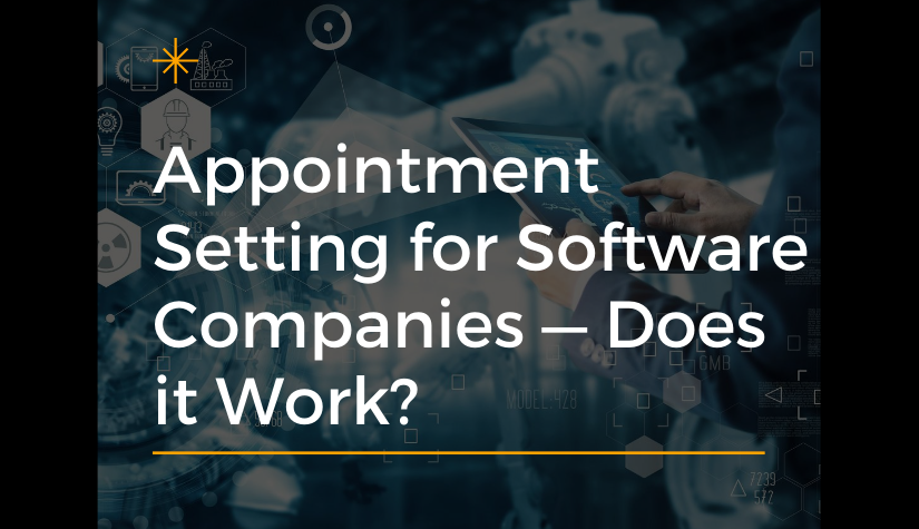 Appointment Setting Service For Software Companies