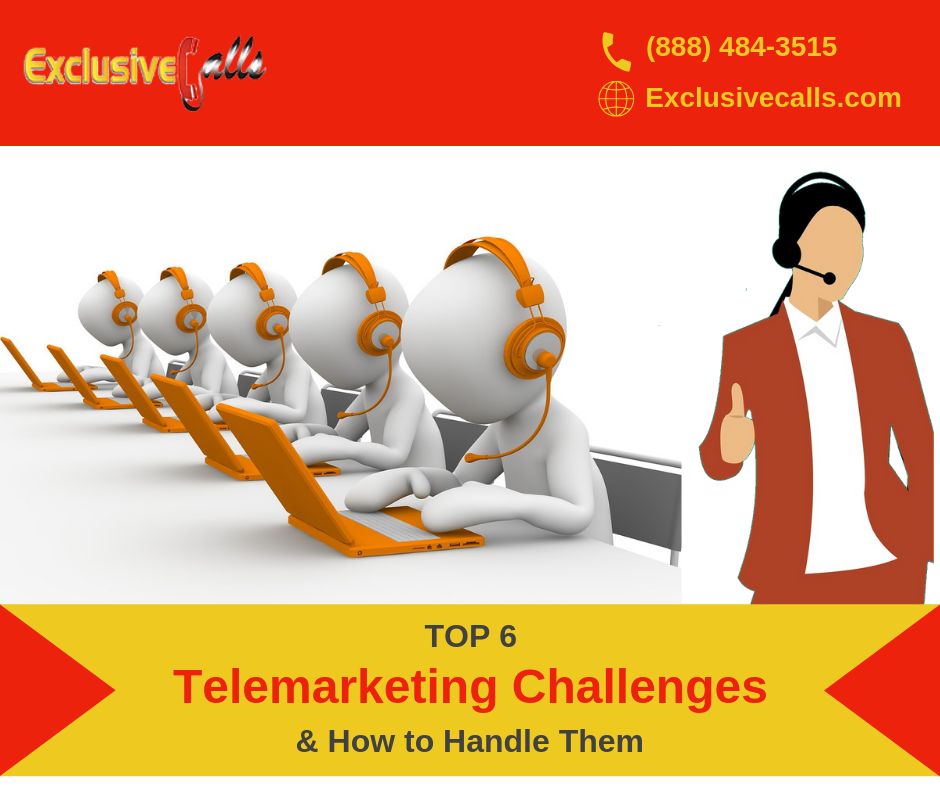 Top 6 Telemarketing Challenges And Their Solutions